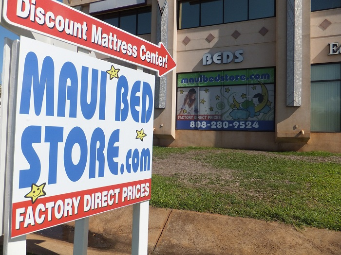 Bedroom furniture outlet servicing all of maui hawaii for Affordable furniture maui