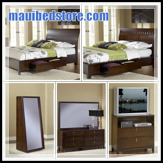 Maui hawaii mattress source kahului lahaina kihei for Bedroom furniture hawaii