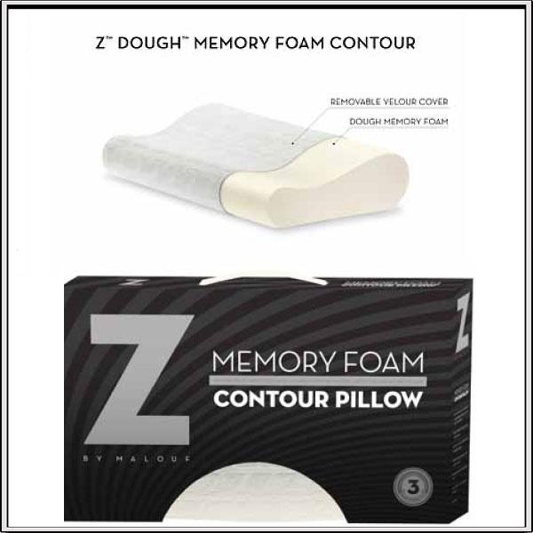 memory foam contour pillows