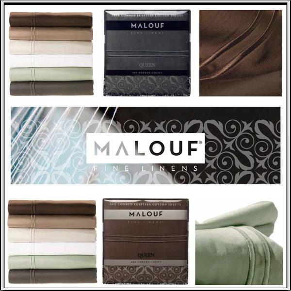 Malouf Egyptian Cotton Sheets