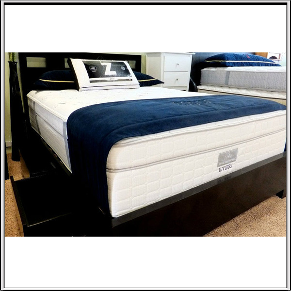 Latex Euro Top Natural Latex Mattress Memory Foam Support