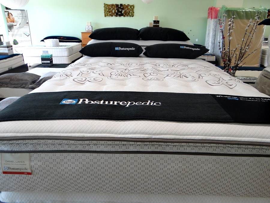 Who Sells The Cheapest King Sealy Posturepedic Gel Series Warrenville Cushion Firm Euro Pillow Top Mattress On Line