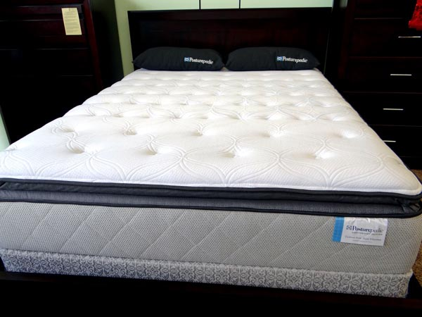 Sealy Anniversary Euro Pillow Top Queen Mattress