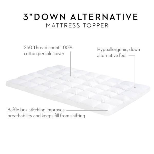 Down Alternative Mattress Topper