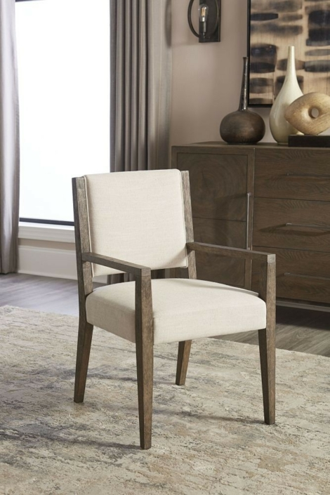 Oakland Upholstered Arm Chair