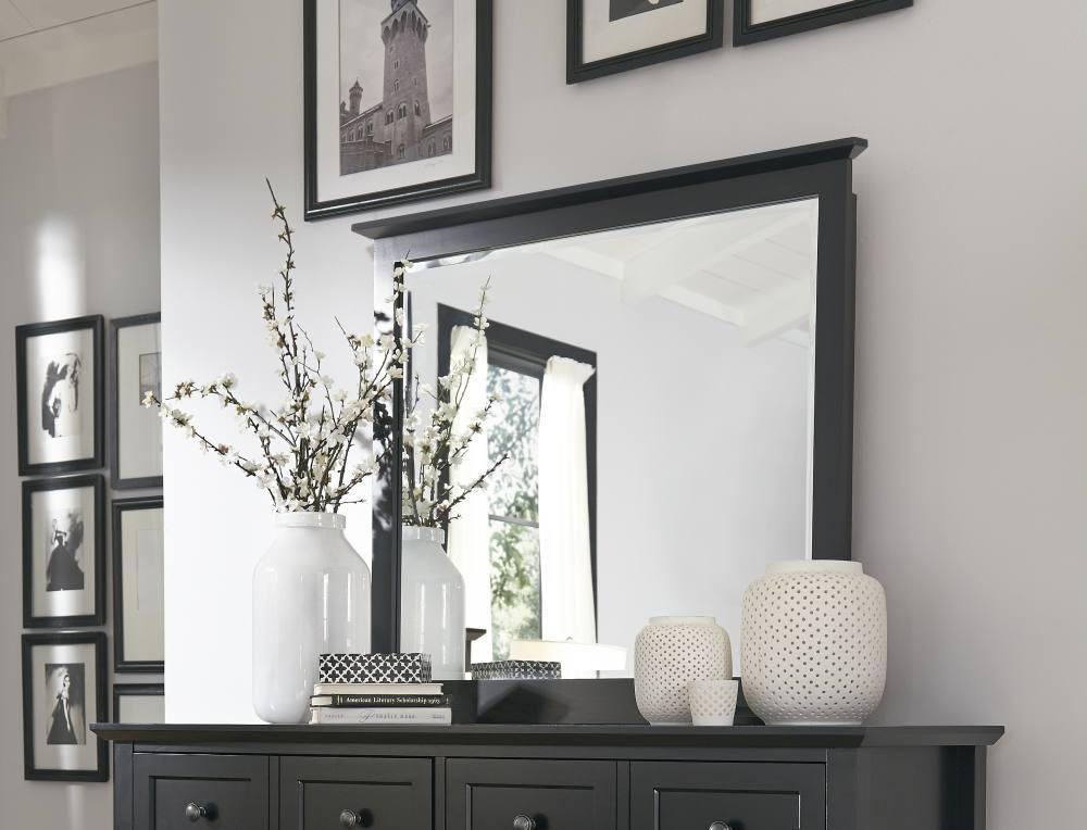 Black Bedroom Mirror