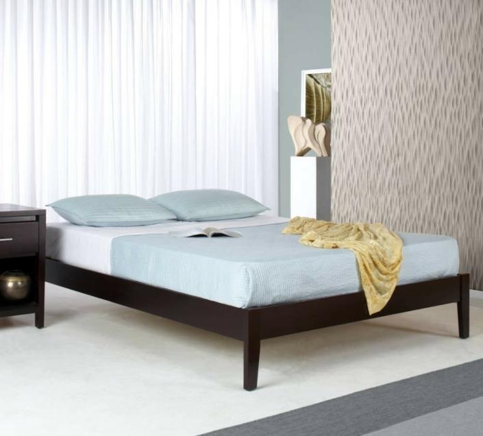 Simple Platform Bed