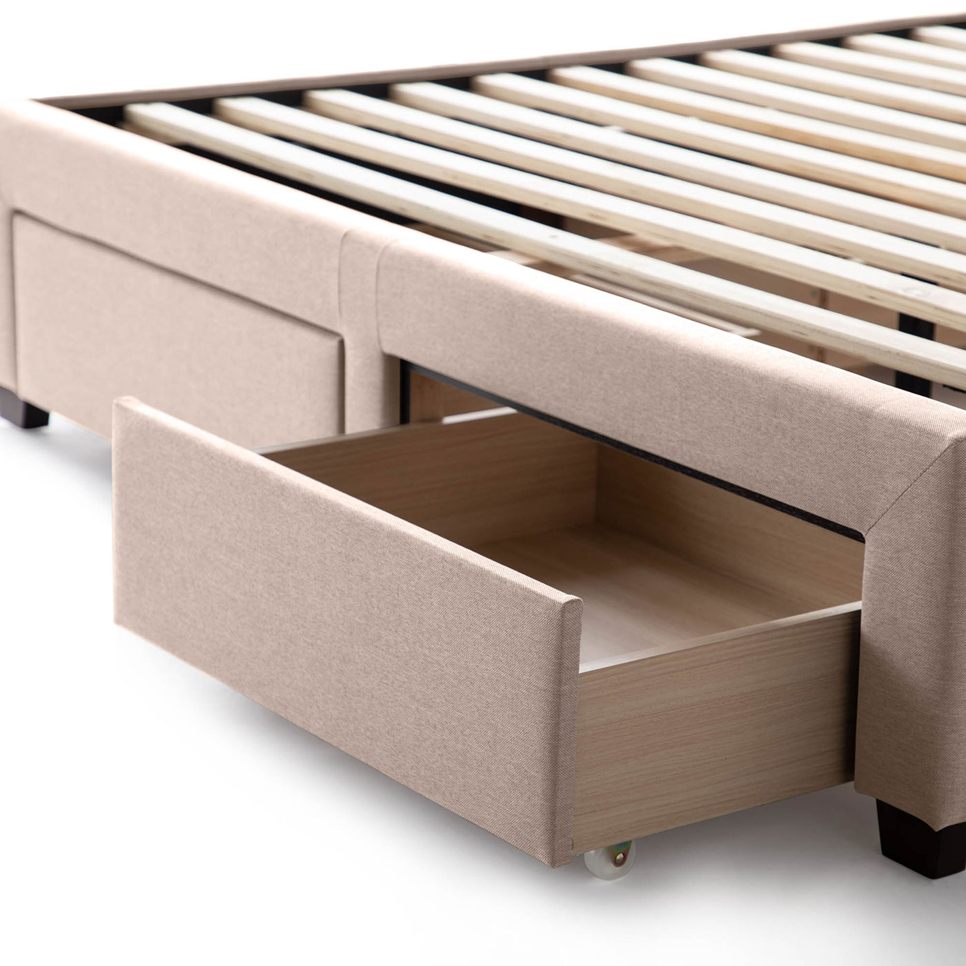 Watson Platform bed with storage