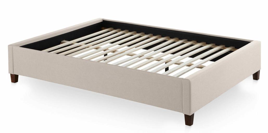 light platform bed base