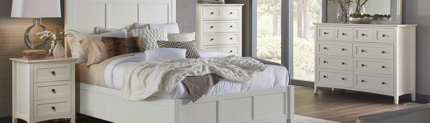 paragon white bedroom set