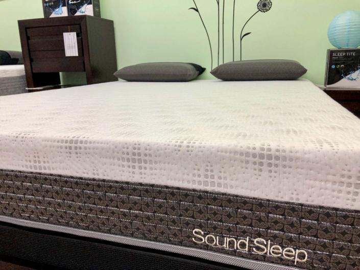 sound sleep mattress gel tech 1200 plush